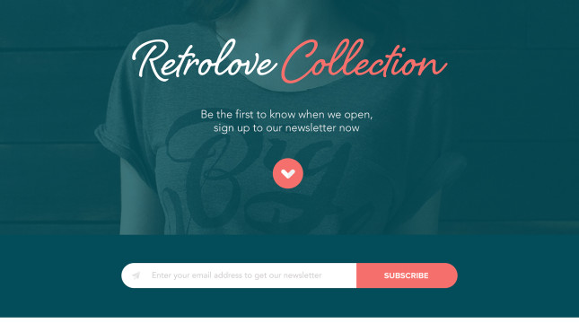 Retro Homepage