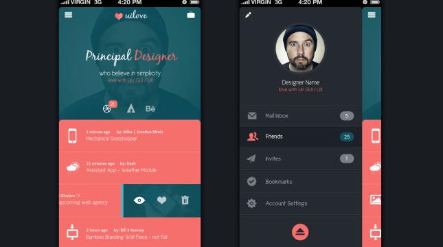 UI Design PSD